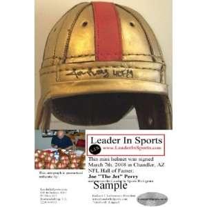 Joe Perry Autographed/Hand Signed Mini Helmet   San Francisco 49ers