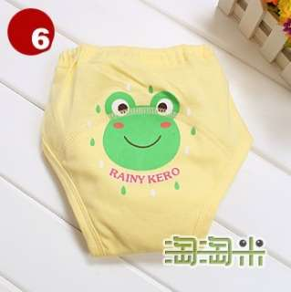 Girls Toilet Training Pull up Pants 4 Layers 8 color & 3 size