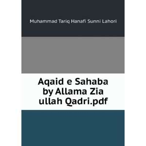 Aqaid e Sahaba by Allama Zia ullah Qadri.pdf Muhammad