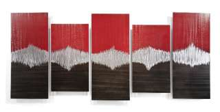 Metal Wall Art Abstract Contemporary Decor Modern Huge