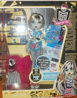 MONSTER HIGH CLASSROOM DOLL FRANKIE STEIN   HOME ICK