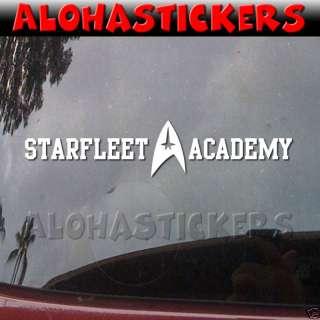 STAR TREK STARFLEET ACADEMY Vinyl Decal Car Sticker E46