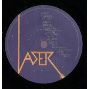 CELLO CAPRICE 7 INCH (7 VINYL 45) UK LASER 1979 ANDRE DUDEK Music