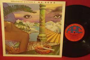 WEATHER REPORT Mr. Gone 1978 JAZZ FUSION LP