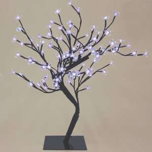 LED Lighted Bonsai Blossom Tree   Cool White Lights