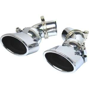 URO Parts W211 EXHAUST0304 Stainless Steel Exhaust Tip