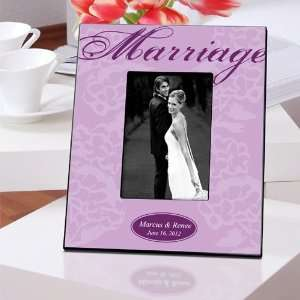 Wedding Favors Lavender Marriage Picture Frame Health