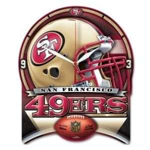 San Francisco 49ers NFL Wall Clock High Definition