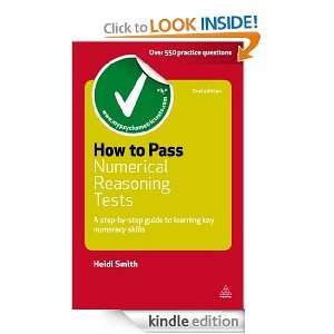 How to Pass Numerical Reasoning Tests: A Step by Step Guide to