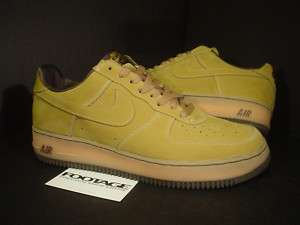 2001 Nike Air Force 1 B Co.JP WHEAT MOCHA FLAX BROWN 10