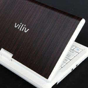 Viliv S7 Laptop Cover Skin [Walnut Wood] Electronics