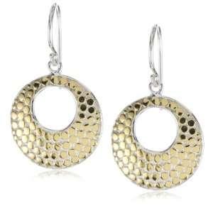 Anna Beck Designs Bali Open Disk 18k Gold Plated Earrings