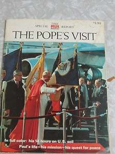 The Popes Visit A Special Time Life Report 1965