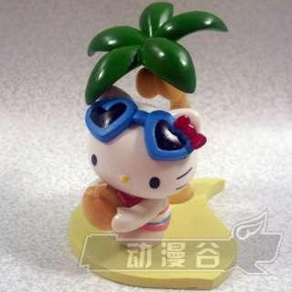 Cute Set Hello Kitty On Vacation Miniature 13 Figures