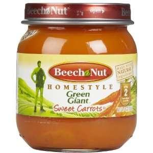 Beech Nut Stage 1 Tender Sweet Carrots   12 pk