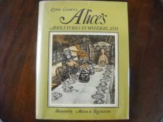 Alices Adventures in Wonderland by Lewis Carroll, Illus. by Arthur