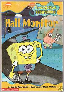Nickelodeon SpongeBob Squarepants Hall Monitor Book 3