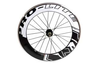 Pro Lite Vicenza 90mm Carbon Track Road Bike Rear Wheel Clincher Alloy
