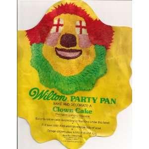 Wilton Cake Pan: Party Clown/Bozo (502 275, 1974): Home