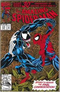 the Amazing Spider Man Comic Book #375, Marvel 1993 NEAR MINT