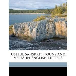 Useful Sanskrit nouns and verbs in English letters