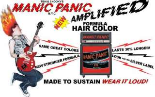 brand new manic panic amplified formula semi permanent hair color
