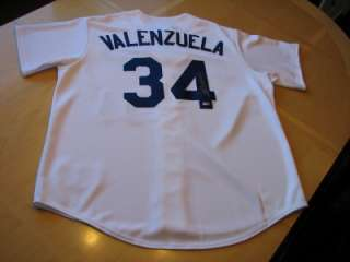 FERNANDO VALENZUELA Signed & MLB hologram Authenticated Dodgers Jersey