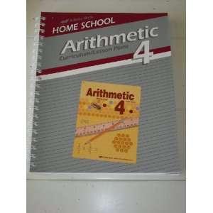 A Beka Book/ Arithmetic 4 Worktext Answer Key
