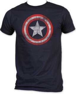 CAPTAIN AMERICA shield T SHIRT marvel comics S M L XL