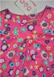 New HANNA ANDERSSON Anderson Play dress sleeveless Pink 80 flowers