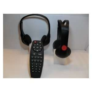 2 GM Headphones & Remote (sku 92) for Chevrolet Suburban, GMC