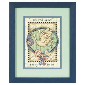 The Storks Delivery Birth Record Counted Cross Stitch Kit
