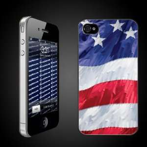 United States Flag iPhone Hard Case   CLEAR Protective