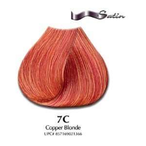 7C Copper Blonde   Satin Hair Color with Aloe Vera Base