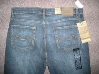 NWT URBAN STAR Mens 38x30 Jeans Relaxed Fit Straight Leg Stretch DARK