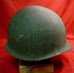 WORLD WAR II FIXED BALE UNITED STATES HELMET
