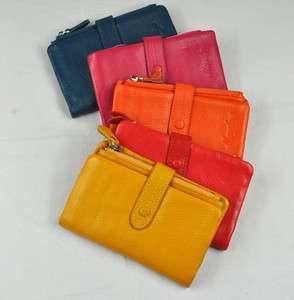 leather lady women Premium Multi functional wallet purse Stylish
