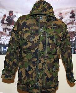Arktis B210 Swiss TAZ90 Windproof Field Parka XXLARGE +FREE D156 Black