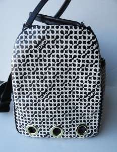 RARE Coach 60391 Penelope Op Art Pet Dog Carrier Tote Bag