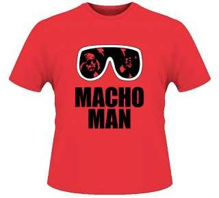 Macho Man Randy Savage T Shirt