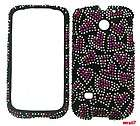 CELL PHONE COVER CASE FOR HUAWEI ASCEND II 2 M865 BLING HOT PINK