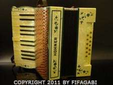 RARE antique HOHNER ACCORDION collectible TANGO INSTRUMENT argentina