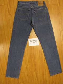 levis blue 501 button fly USA jeans 32x34 512R