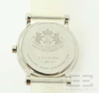 Juicy Couture Silver Juicy Girl Round Face Watch