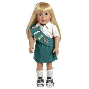 Adora Play Doll Chloe   Girl Scout Jr. 18 Doll & Costume
