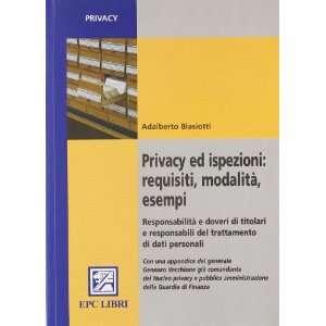 trattamento di dati personali (9788863100846) Adalberto Biasiotti