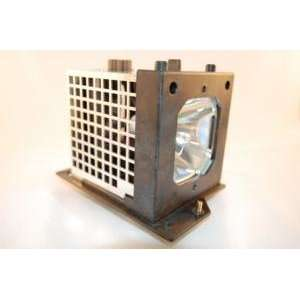 Hitachi 60V525E rear projector TV lamp with housing   high