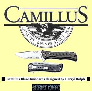 Camillus Knives Camillus Blaze Knife Part Serrated NIB