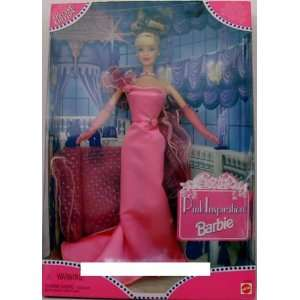 Toys R Us Pink Inspiration Blonde Barbie Doll Toys