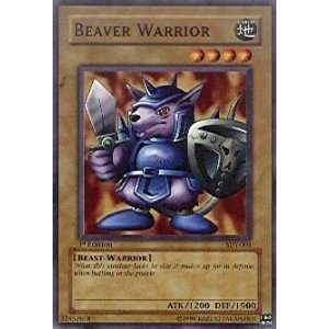 Beaver Warrior   Starter Deck Yugi   Common [Toy] Toys